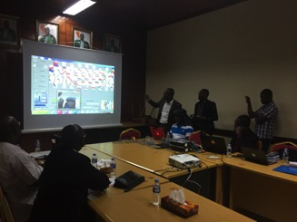 Neuroimaging demo for Ivorian Government