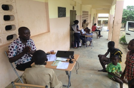 First wave of data collection in Côte d'Ivoire is done