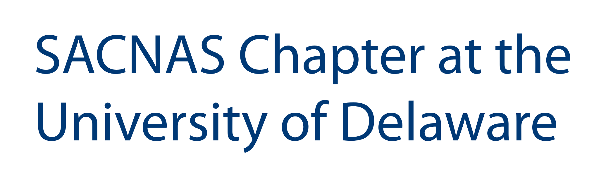 SACNAS Chapter at UD