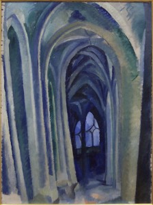 Robert Delaunay, Saint-Séverin, 1909