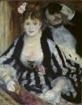 Pierre-Auguste Renoir, La Loge, 1874, Courtauld Gallery, London
