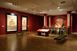 Installation view of Splendors of China's Forbidden City, exhibition at the Dallas Museum of Art, 2004-2005