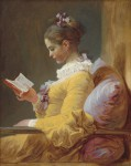 Jean-Honoré Fragonard, Young Girl Reading, ca. 1770, National Gallery of Art, Washington