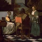 Johannes Vermeer, The Concert (detail), ca. 1665, Isabella Stewart Gardner Museum, Boston (stolen 1990)