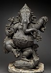 Indian, Dancing Ganesh, 13th century, Harn Museum of Art, University of Florida, Gainesville