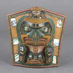 Kwakwaka'wakw artist, Headdress Frontlet, pre-contact, Portland Art Museum, Portland, Oregon