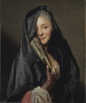 Alexander Roslin, The Lady with the Veil, 1768, Nationalmuseum, Stockholm