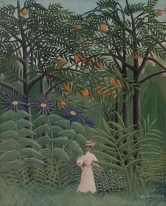 Henri Rousseau, Woman Walking in an Exotic Forest, 1905, Barnes Foundation, Philadelphia