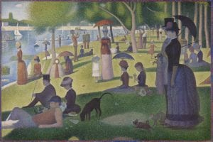 Georges Seurat, A Sunday on La Grande Jatte, 1884-86, Art Institute of Chicago
