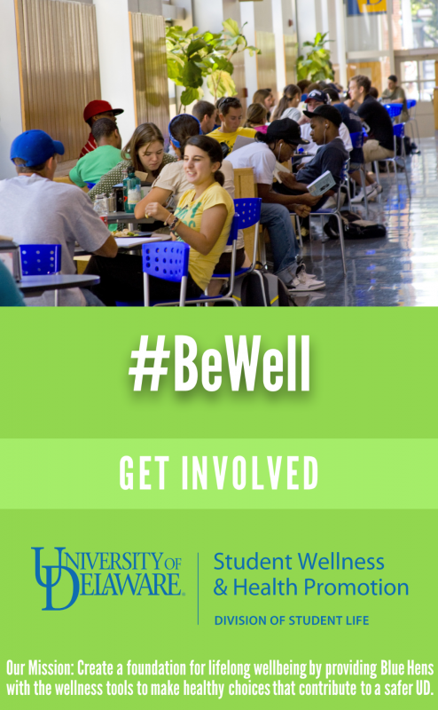 Be Well: Get Involved: Learn about the student leadership opportunities available through our office.