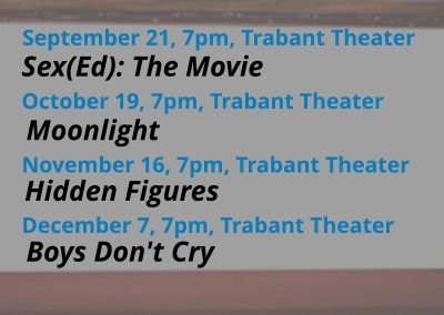 Weekday Film Festival in TUC at 7pm