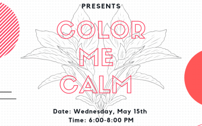 Enjoy FREE Cookies and Relax Before Finals at Color Me Calm!