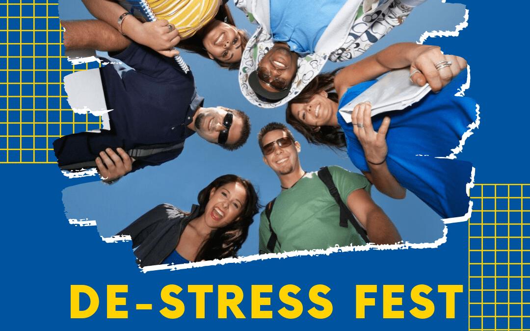 Midterms Making You Mad? De-Stress Fest Has Got Your Back!
