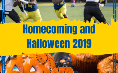 Homecoming and Halloween at UD means fun times for Blue Hens!