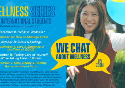 WE CHAT: About Wellness Series