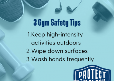 3 gym safety tips