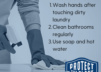 3 covid cleaning tips