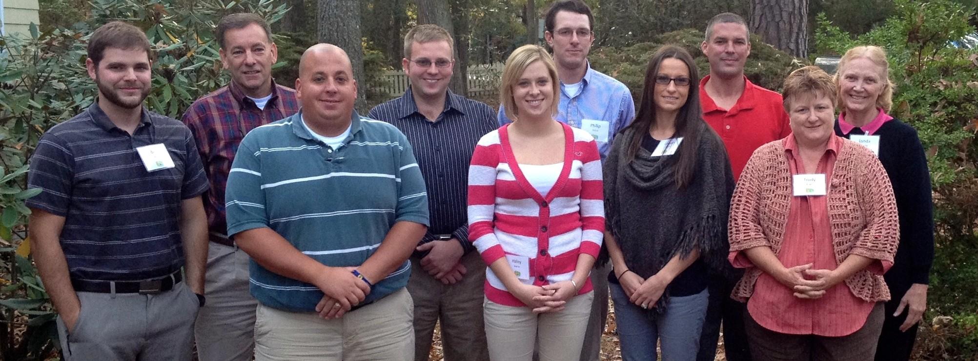 LEADelaware Class III group photo