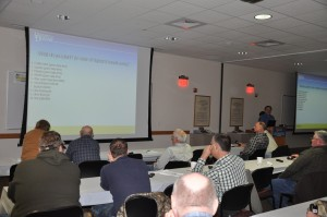 More than 40 growers, processors, scouts and industry people were present for the first Lima Bean Forum hosted in Georgetown, DE, under the SCRI grant.