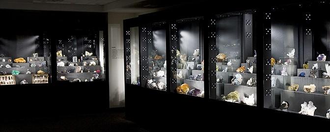 Mineralogical Museum Installation image courtesy Michael J. Bainbridge