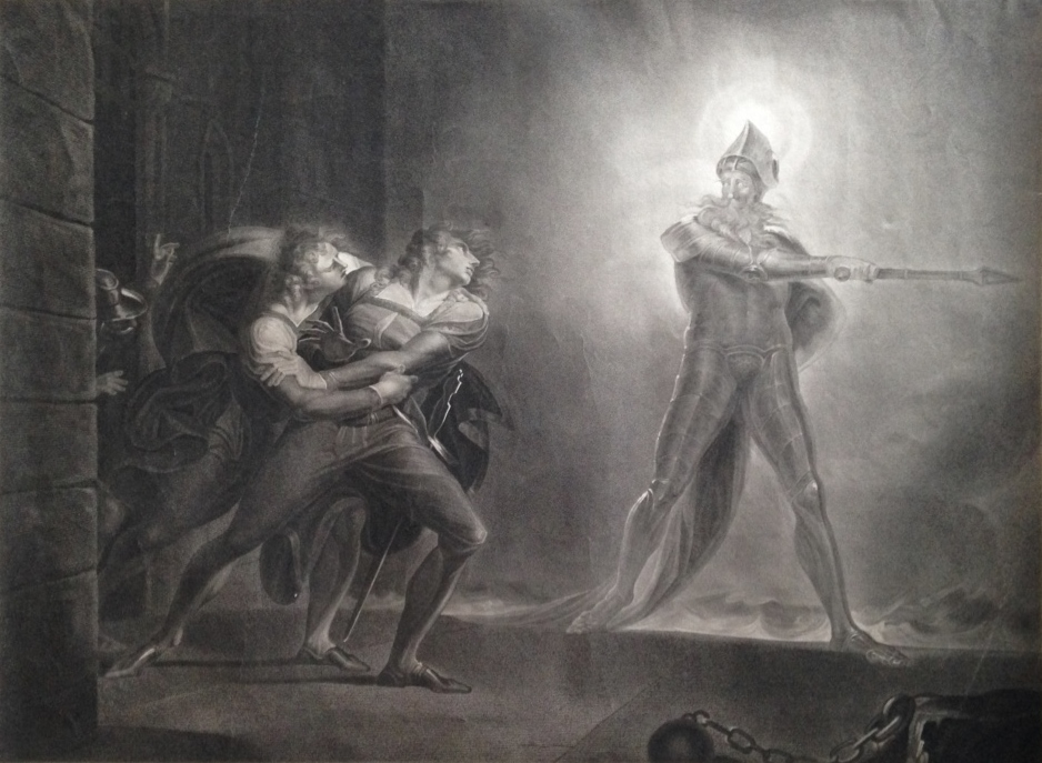 Robert Thew after Henry Fuseli, Hamlet, Prince of Denmark, 1796, Stipple engraving