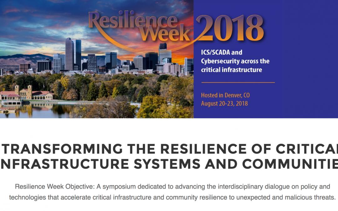 Resilience Week 2018
