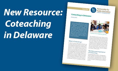 New Resource: Coteaching in Delaware