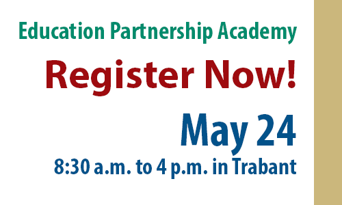 Register Now for the Education Partnership Academy