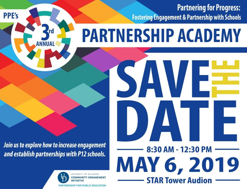Partnership Academy - save the date