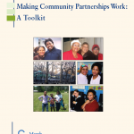 Cover of Making Community Partnerships Work: A toolkit