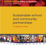 Cover to Sustaining School Community Partnerships Through Effective Communication