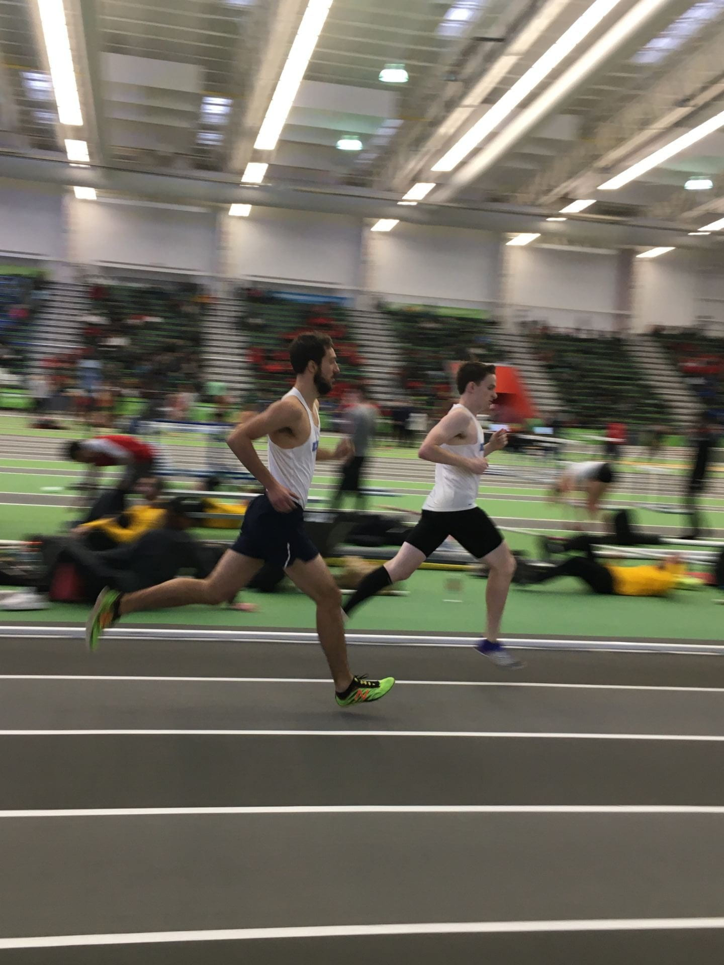 Pat LaPorte and Paul Filipow kicked some serious butt in the mile!