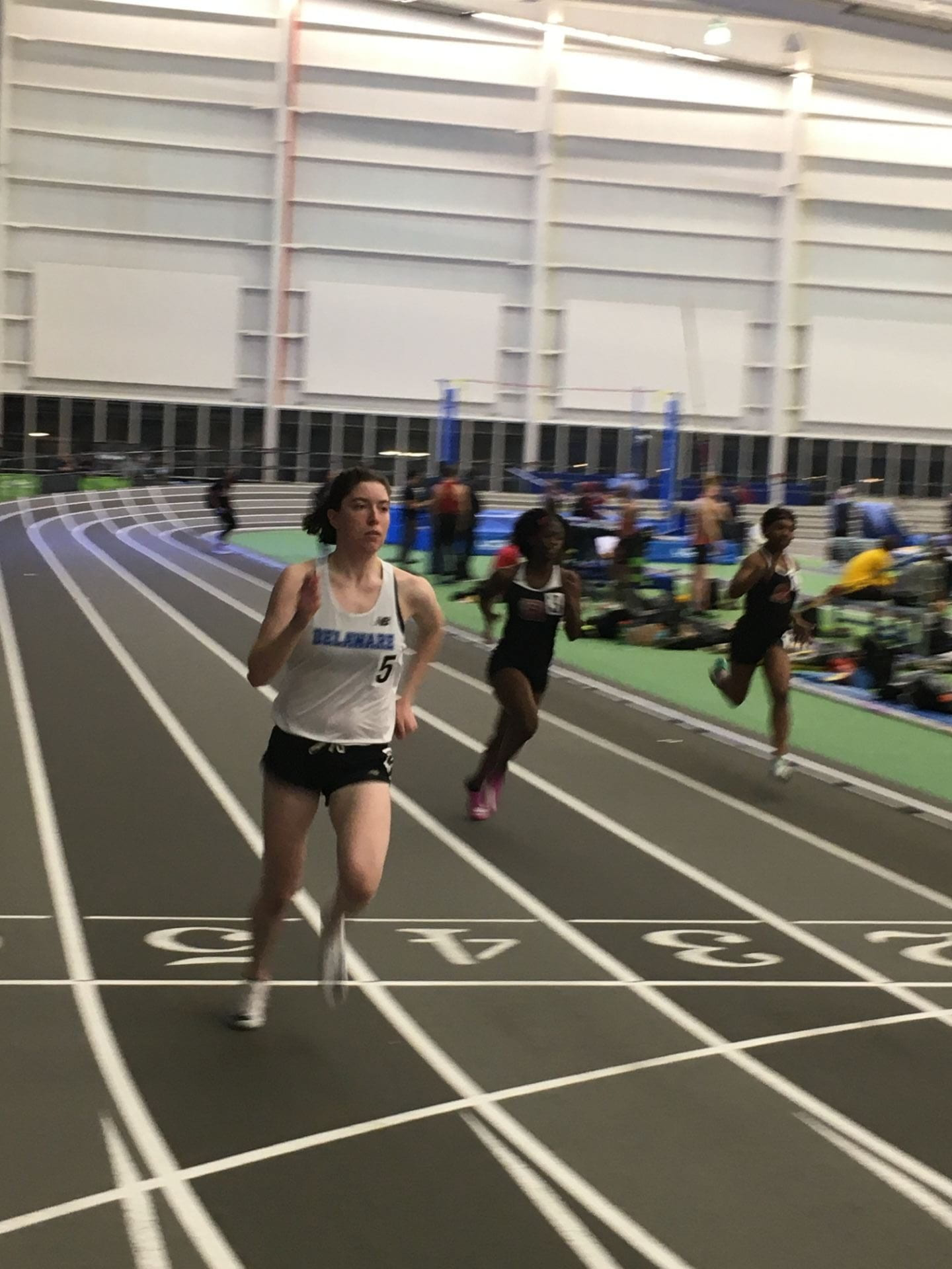 Cassidy McCormick dominated both the women's 400 and 800 for UDXC