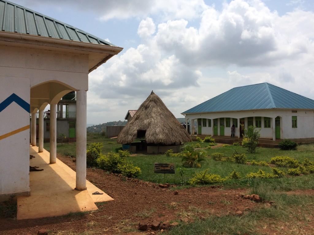 SINA huts in Uganda