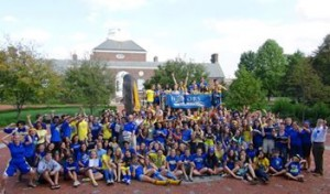 A big welcome to the class of 2017 - I hope this photo shows you just how nerdy and fun UDHP is!