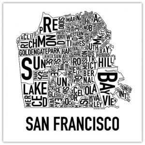 Neighborhoods of San Francisco.