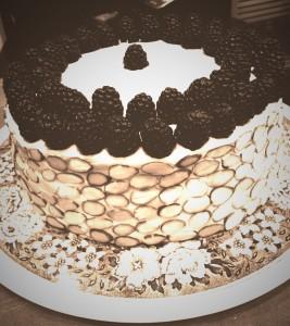 The cake I make for myself every birthday.