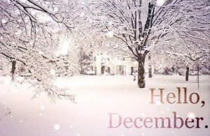 Whether you like it or not, December is here to stay (at least for 31 days)