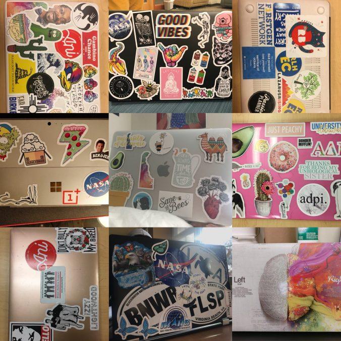 Laptop sticker culture by sarah blum