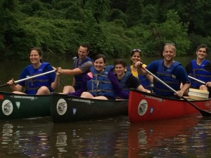 2015 canoe trip