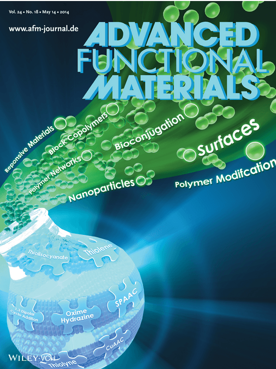 Cover Advanced Functional Materials
