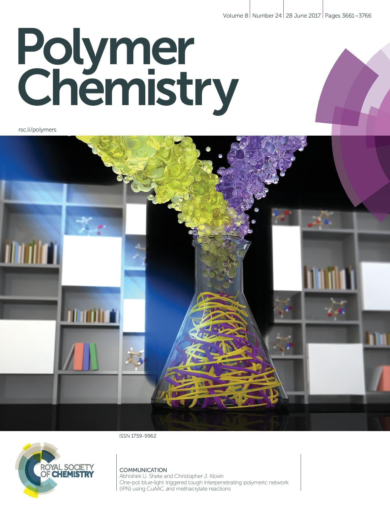 Polymer Chemistry Cover