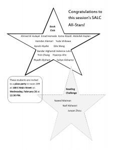 Allstars session III 2014