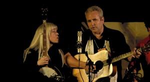 Chris Stuart and Janet Beazley, courtesy Winter Village Bluegrass Festival