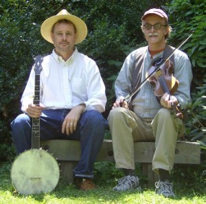 Mark Tamsula, fiddle, and Richard Withers, banjo