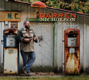 Cover to Darren Nicholson's solo project