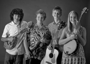 Uncle SAMS Band: (l-r) Max, Andrew, Sebastian, Savannah