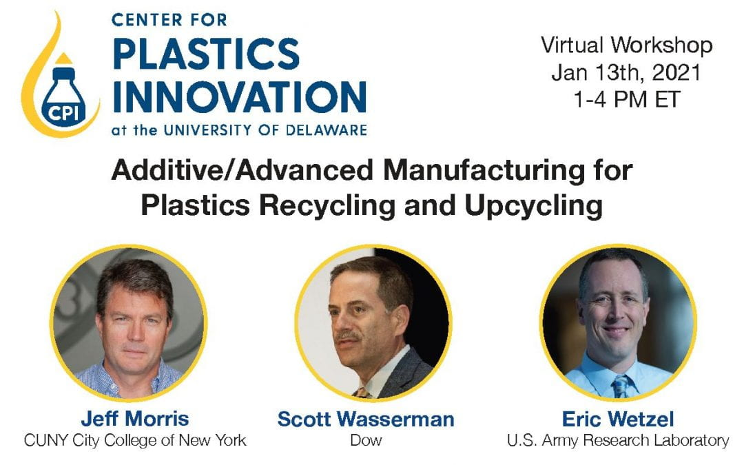 Virtual workshop on Plastics Recycling & Upcycling on Jan 13th