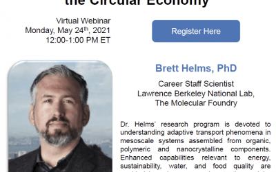 CPI webinar:  Dr. Brett Helms on May 24th