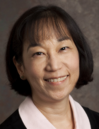 Publicity photo of new CEHD Dean, Lynn Okagaki